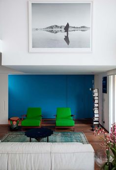 Campo Belo open space apartment in Sao Paulo - CAANdesign | Architecture and home design blog