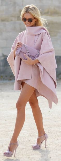 #fall #fashion / all pink