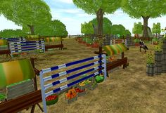 Try out Lisa's brand new jumping track!