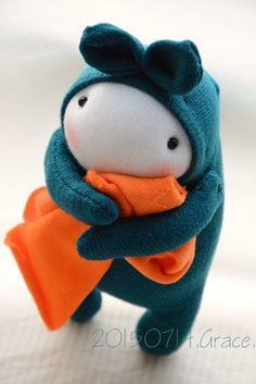 #208 sock doll