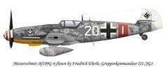 BF-109G6 III/JG-1