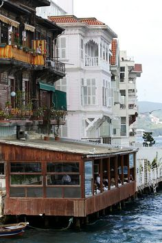 Restaurant on the Bosphorus by kunitsa, via Flickr