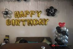 Best Birthday Room Decoration ideas to plan an amazing birthday surprise for your loved ones. Welcome Home Decorations, Birthday Room Decorations, Balloon Decorations, Happy Birthday Special Person, Surprise Birthday, Event Management, Balloons, Ideas, Globes