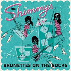 The Shimmys LP cover by Neryl Walker