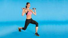 Watch free The Burn Mega Calories Workout videos at FitnessMagazine.com.