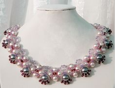 This necklace is lovely.  Come on in and get your pearls for 20% off and then go home and make yourself one