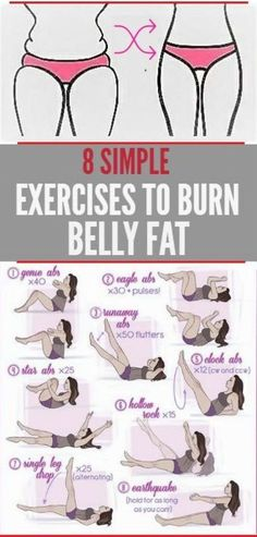 8 moves to burn belly fat  | Posted By: AdvancedWeightLossTips.com