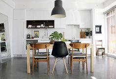 Small Space Hacks: 20 Tiny Apartments We Love via Brit + Co.