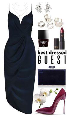 """""""Best Dressed Guest: Winery"""" by joslynaurora on Polyvore featuring moda, Judith Leiber, Casadei, Zimmermann, Lipstick Queen, napa, winerywedding, bestdressedguest y vineyardwedding"""