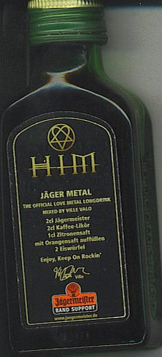 HIM Jager Metal- Ville and Jager *angels sing*