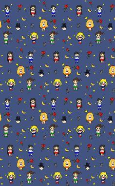 Sailor Scouts Wallpaper
