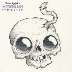 Buddies!#morningscribbles #october #halloween