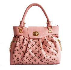 pink louis vuitton hand bag