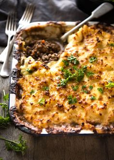 Classic, epic Cottage Pie made properly, with a luscious filling. Easy to make, great for freezing, plus a quick cooking video is also provided!