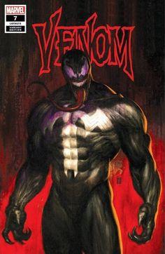 Venom variant cover by Mike Choi * Venom Comics, Marvel Venom, Marvel Art, Marvel Dc Comics, Marvel Heroes, New Venom, Venom Art, Sketch Manga, Art Manga