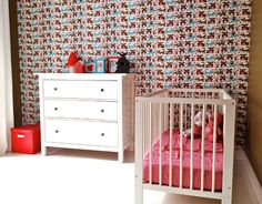 Amazing use of the Owl and Pussycat wallpaper! We love this room!
