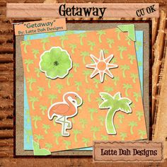 Getaway  Digital Scrapbooking Mini Kit by Latte Dah Designs