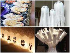 Decoração Criativa para Halloween Halloween Diy, Birthday Parties, Lol, Holiday, Crafts, Notebook, School, Decorated Bottles, Creative Decor