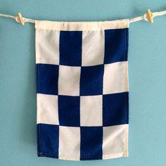 """""""""""N"""""""" Nautical Signal Flag"""