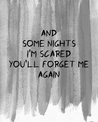 And some nights I'm scared you'll forget me again. - Fun / Some Nights Jean Paul Sartre, Cool Lyrics, Music Lyrics, I See Stars Lyrics, Lyric Quotes, Me Quotes, Hurt Quotes, Victim Quotes, Storyboard