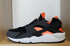 c30d8004c215 Image of Nike Huarache LE - Black Total Orange Black Huarache