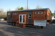 34' Tiny House on Wheels with Slide Outs