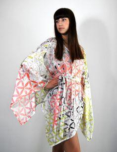 DRESS/KIMONO FLOWER OF LIFE