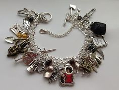Supernatural Charm Bracelet Dean SAM Jensen Ackles Castiel Deans Amulet | eBay