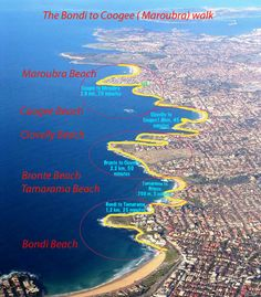 Enjoy The Bondi to Coogee Walk. This walk features beautiful views and is known as Sydney's best coastal walk. Stop along the way to swim, rest or eat.