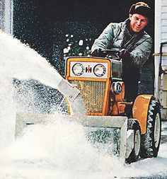 1963 International Harvester ad… the Cub Cadet, it's no toy it's a tractor!