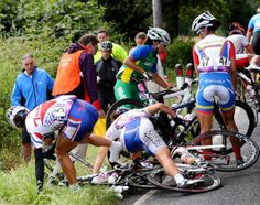 Cycling Women | Olympic cycling crash - Olympics 2012: The worst athlete wipeouts - NY ...