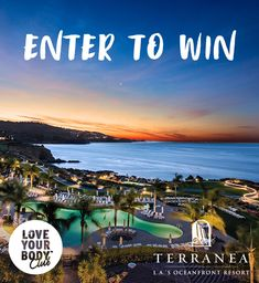 I just entered the Love Your Body™ Club Escape the Norm Sweepstakes! Enter and you could win a spa getaway to California! Check it out now. Ends 3/29/18.