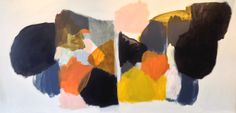 Michael Cusack Marchand oil on board 122 x 240 cm