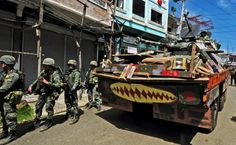 SECURITY forces in the Philippines said eight foreigners are among the remaining 40 militants still fighting in Marawi, nearly six months after the Islamic State-inspired Maute Group laid siege to the southern city. Filipino, High Quality Images, Military Vehicles, Philippines, Monster Trucks, Film, Soldiers, Countries, Internet