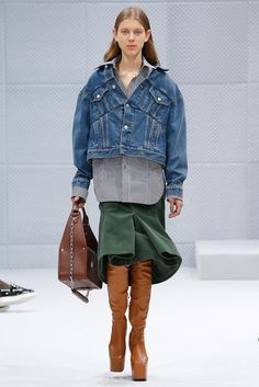 La veste en jean de Balenciaga