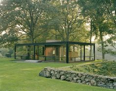 philip johnson glass house, new canaan, ct