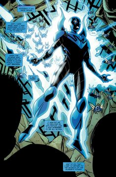 "superheroesincolor: ""Jaime Reyes, Blue Beetle (DC Comics) """