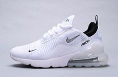 pretty nice 391c8 779ee Mens Womens Nike Air Max 270 Sneakers White White Black AH8050 100  ah8050-100j