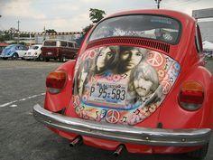 The Beatle's on a beetle . Beetle Bug, Vw Beetles, Vw Classic, Fantastic Voyage, The Fab Four, Buggy, Custom Vans, Love Bugs, Lady And Gentlemen