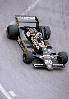 James Hunt of Great Britain drives the Olympus Cameras Wolf Racing Wolf WR7 Ford Cosworth DFV V8 in action during the Monaco Grand Prix in monte... #OlympusCamera