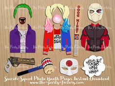 Suicide Squad Party Theme Photo Booth by ThePartyFactoryWorld