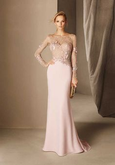 10 vestidos de festa de com manga longa para usar em 2017 - madrinhas de casamento Stunning Dresses, Beautiful Gowns, Elegant Dresses, Cocktail Bridesmaid Dresses, Wedding Dresses, Cocktail Dresses, Dresses Uk, Fashion Dresses, Prom Dresses