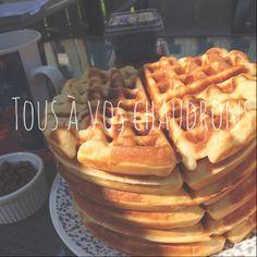 Tous à vos chaudrons...: Gaufres Breakfast, Food, Cauldron, Waffles, Recipes, Morning Coffee, Meals, Yemek, Eten