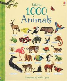 1,000 Animals $14.99 Please visit your party website or contact your consultant to order this book.