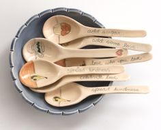 ceramic spoons   jeanette zeis ceramics: Ceramic spoons. An obsession.