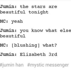 Mystic Messenger || Jumin and MC || It's sad because I can see this happening