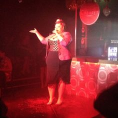 A cabaret in Camden Town - great night out in London