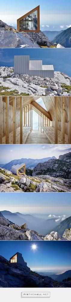 Alpine Shelter // OFIS & Harvard University's Graduate School of Design // base of Mount Skuta in the Kamnik Alps, Slovenia