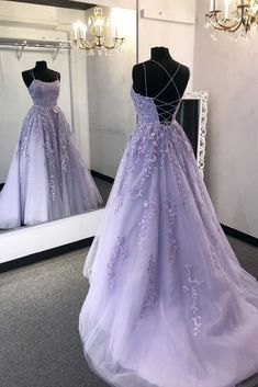 2020 New Prom Dresses with Appliques and Beading Long Prom Dress Fashion School Dance Dress W. - 2020 New Prom Dresses with Appliques and Beading Long Prom Dress Fashion School Dance Dress Winter Formal Dress Source by - Light Purple Prom Dress, Lavender Prom Dresses, Pretty Prom Dresses, Hoco Dresses, Tulle Prom Dress, Purple Lace, Purple Prom Dresses, Lavender Dress Formal, Lavender Quinceanera Dresses