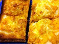 ツナとたまねぎのチーズトースト:タモパンの画像